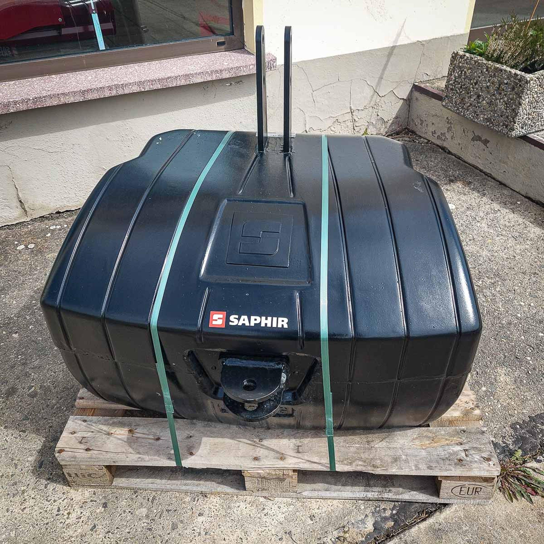"""Stahlbeton -Gewicht """"New Generation"""" 900 kg"""