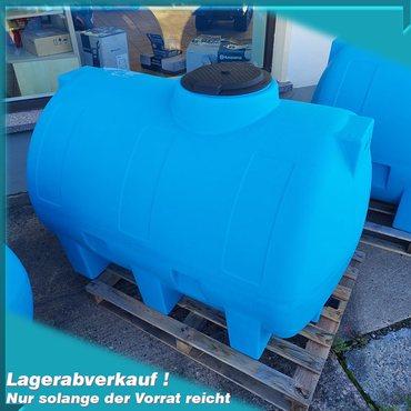 Wassertransportfasss | Weidefass 1000 Liter Lagerabverkauf AQ1000H