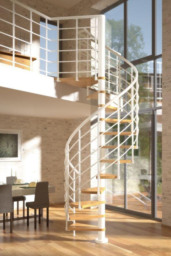 dolle wendeltreppe oslo wei 160 innentreppen wendeltreppen. Black Bedroom Furniture Sets. Home Design Ideas