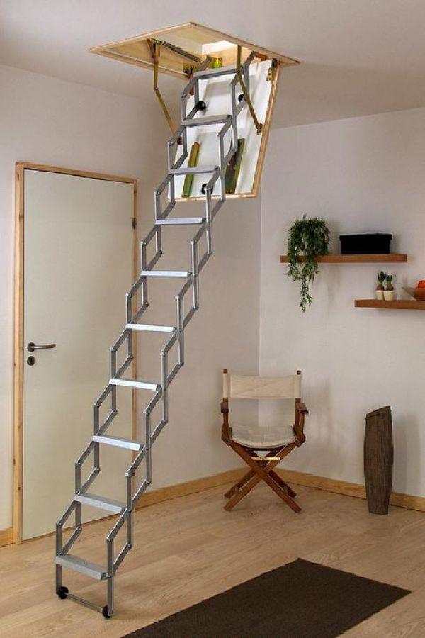 Dolle Dachbodentreppe Alu-Fix mit Lukenkasten – Bild 1