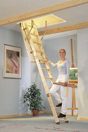 Dolle Dachbodentreppe Kompakt 001