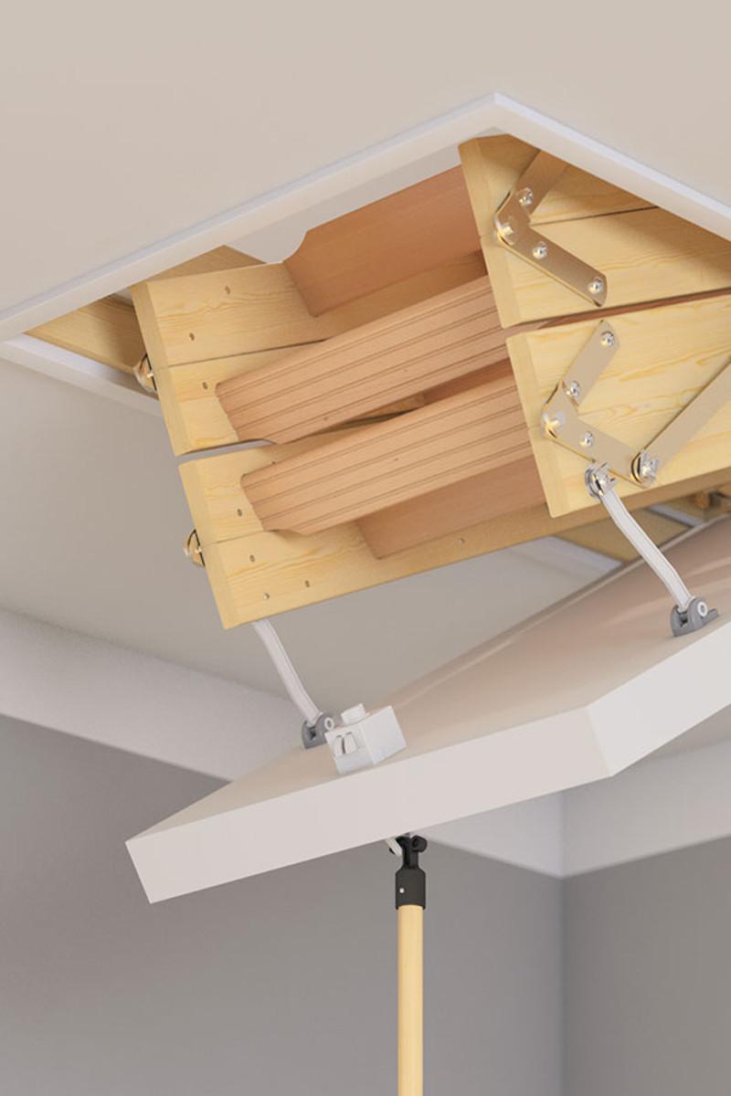 Dolle Dachbodentreppe Mini – Bild 4