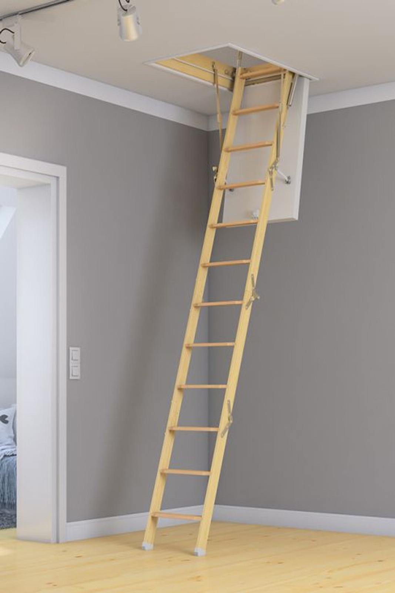 Dolle Dachbodentreppe Mini – Bild 2