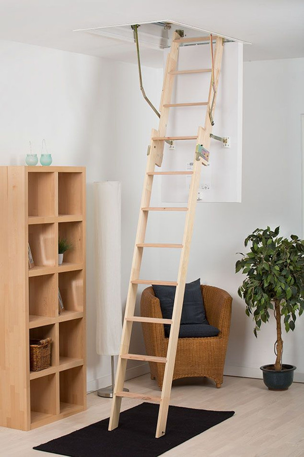Dolle Dachbodentreppe Click Fix 2-Teilig – Bild 1