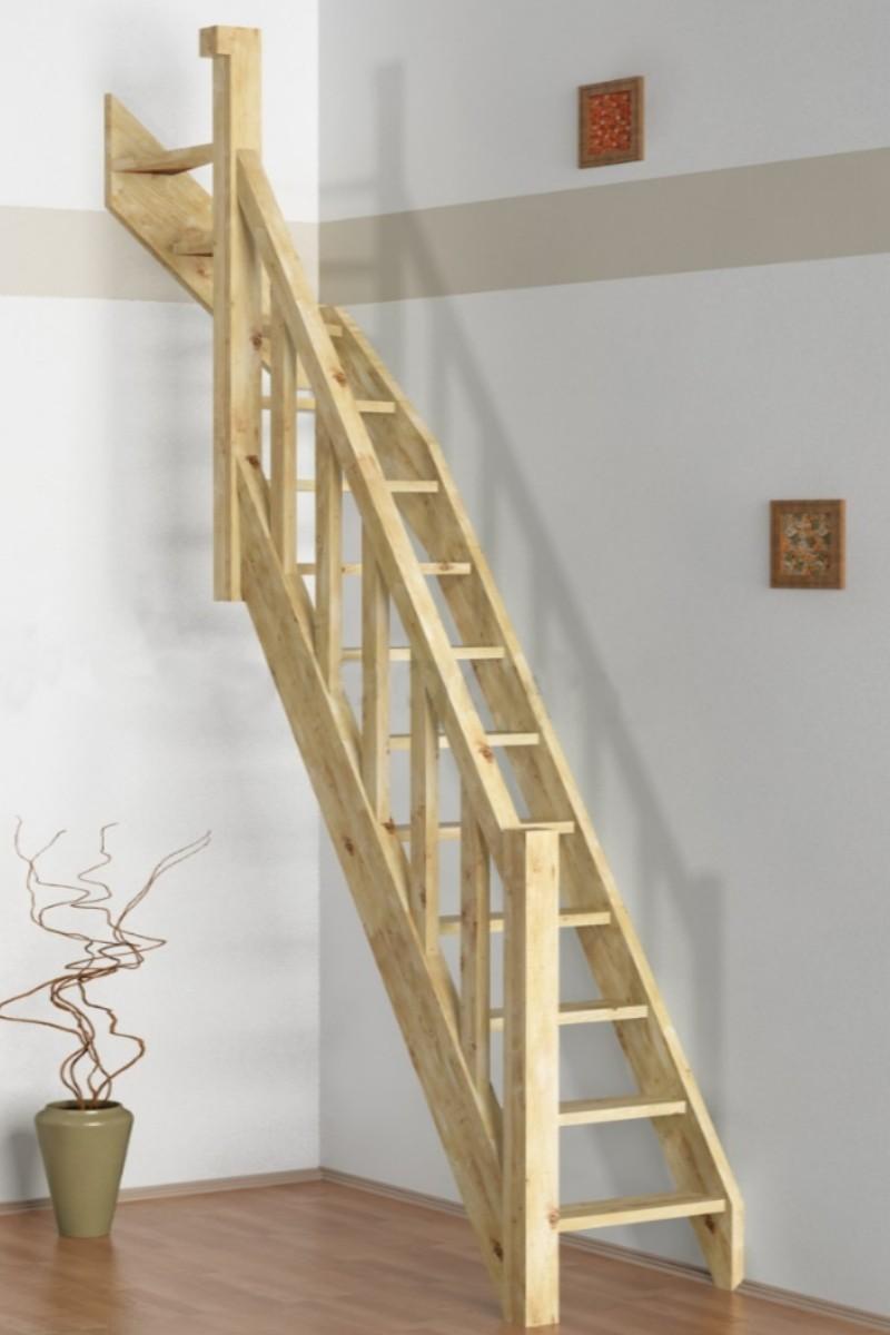 raumspartreppe paderborn fichte 1 4 oben links gewendelt. Black Bedroom Furniture Sets. Home Design Ideas
