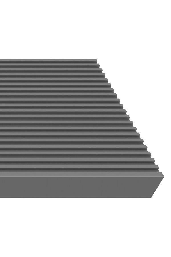 Außentreppe Gardentop ohne Geländer mit Trimaxstufen anthrazit – Bild 2