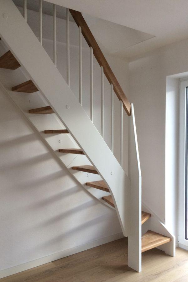 Treppe nach Maß 1/4 gewendelt links unten – Bild 2