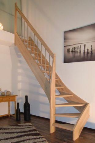 Treppe nach Maß 1/4 gewendelt links unten 001