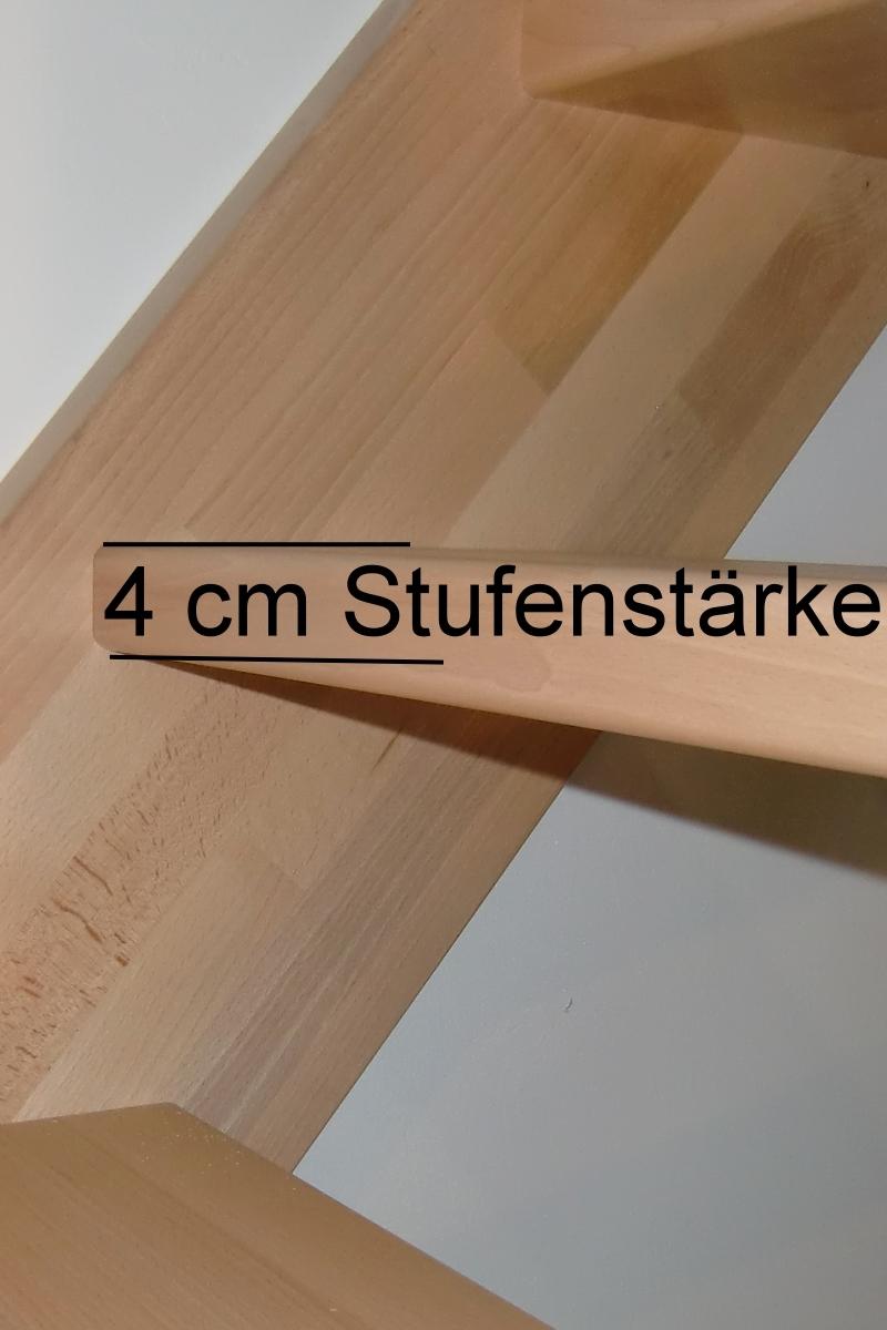 Treppe nach Maß 1/4 gewendelt rechts unten – Bild 4