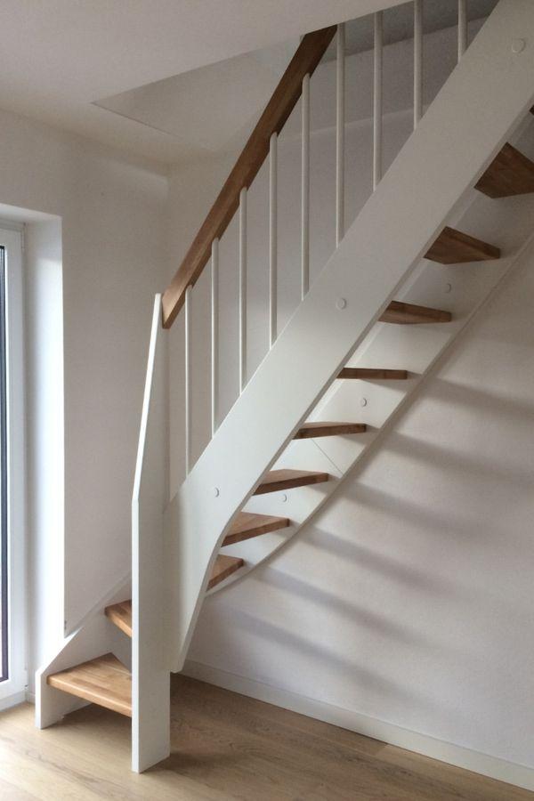 Treppe nach Maß 1/4 gewendelt rechts unten – Bild 2
