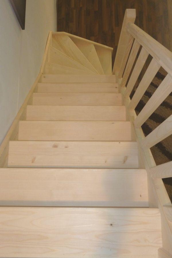 Treppe Alexander - Fichte - 1/4 unten links gewendelt – Bild 2