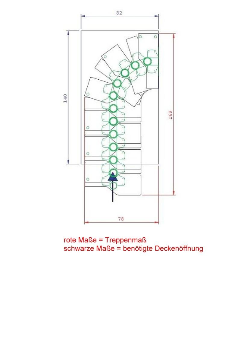 Dolle Raumspartreppe Graz Buche – Bild 5