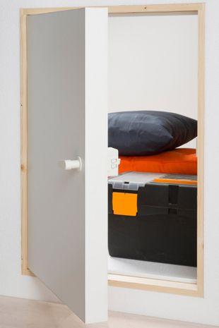 Kniestocktür Dolle mit Wärmeschutz 80 x 56 001