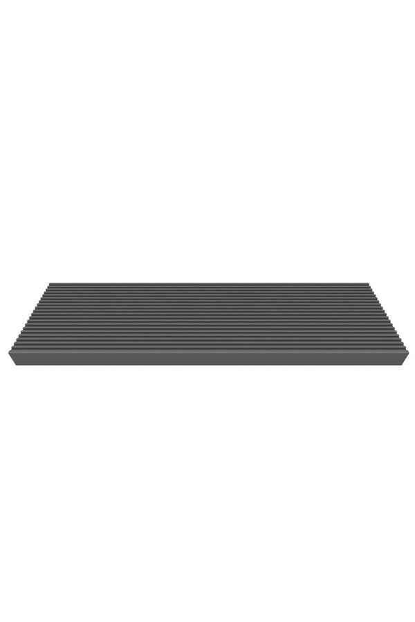 Treppenstufe Trimax anthrazit 80 cm oder 100 cm für Außentreppen