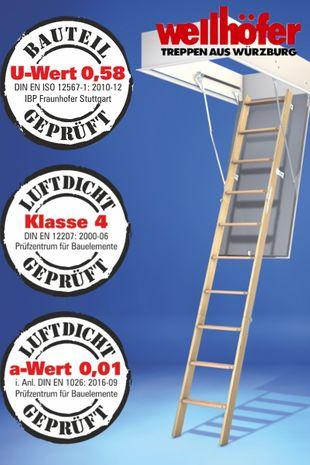 Bodentreppe Wellhöfer GutHolz WärmeSchutz 4D 001