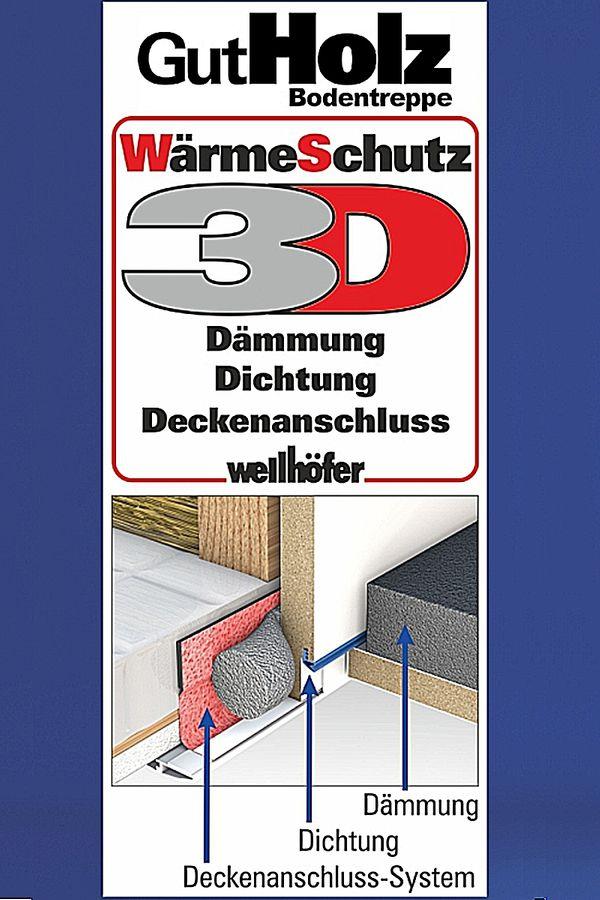 Bodentreppe Wellhöfer GutHolz WärmeSchutz 3D Maßanfertigung – Bild 2