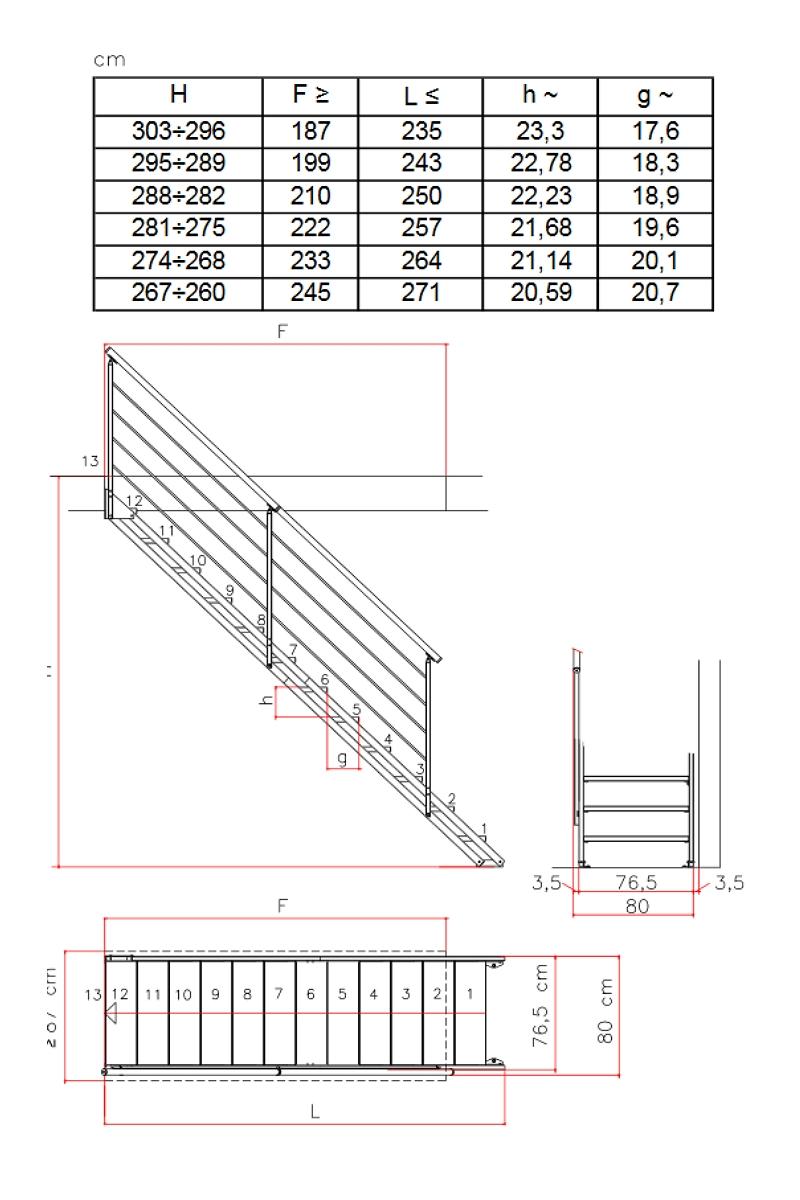 Außentreppe Stahlwangentreppe POP verzinkt – Bild 6