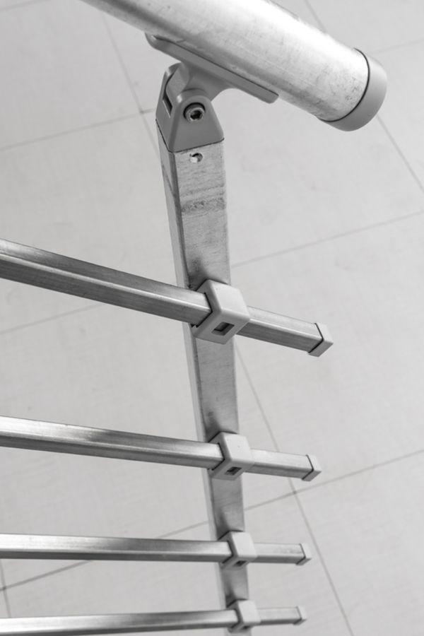 Außentreppe Stahlwangentreppe POP verzinkt – Bild 3