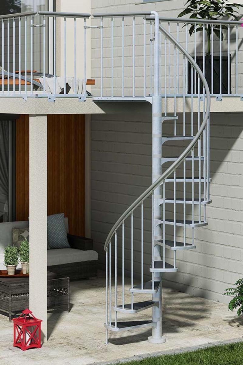 Außentreppe Spindeltreppe Dolle Gardenspin 155 TRIMAX – Bild 1