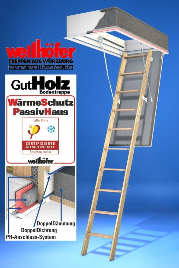 Bodentreppe Wellhöfer GutHolz WSPH PassivHaus