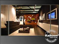 Möbelhaus | Dekoration | Wohnzimmer | Fadenvorhang
