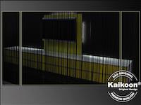 Fadenvorhang im Einsatz | Möbelhaus Dekoration