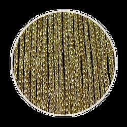 Fadenstore150 cm x 300 cm (BxH) gold glänzend