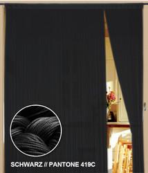 Dieser Fadenvorhang von der Marke Kaikoon der Grösse 150 cm x 400 cm in schwarz ist super geeignet auch als Raumteiler