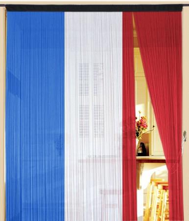 Fadenvorhang Frankreich 300 cm x 300 cm
