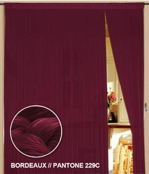 Dieser Vorhang von der Marke Kaikoon der Grösse 090 cm x 240 cm in bordeaux ist super geeignet auch als Raumteiler