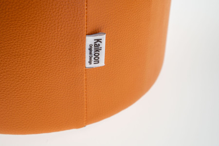 Sitzhocker orange Ø34 x 44cm