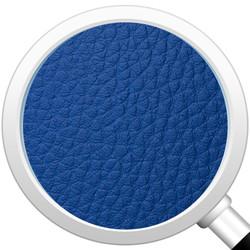 Cubes Hocker Sitzhocker Sitzwuerfel Kunstleder blau