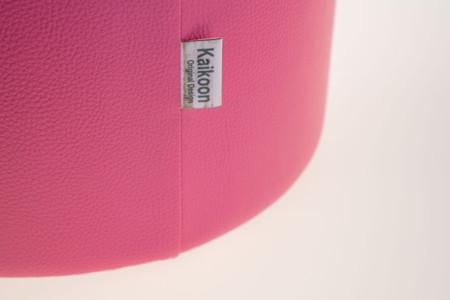 Sitzhocker pink Ø34 x 44cm