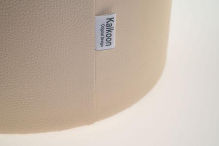 Sitzhocker creme Ø 34 cm x 34 cm