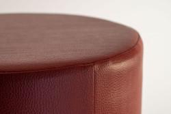 Cubes Hocker Sitzhocker Sitzwuerfel Kunstleder bordeaux