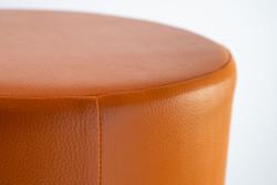 Sitzhocker orange Ø34cm x60cm