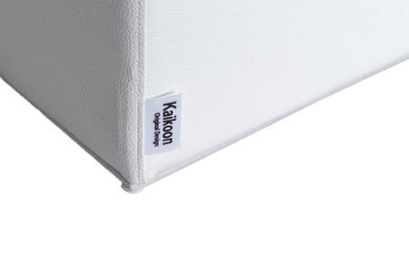 Sitzwürfel Weiß Maße: 35 cm x 35 cm x 42 cm