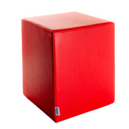 Sitzwürfel Rot Maße: 35 cm x 35 cm x 42 cm