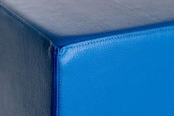 Sitzwürfel Sitzhocker Hocker Würfel Cubes Messe 35 cm x 35 cm x 42 cm Blau