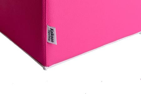 Sitzwürfel Pink Maße: 35 cm x 35 cm x 42 cm