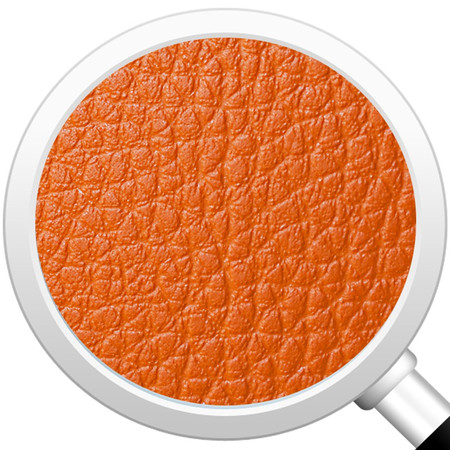 Sitzwürfel Orange Maße: 43 cm x 43 cm x 48 cm