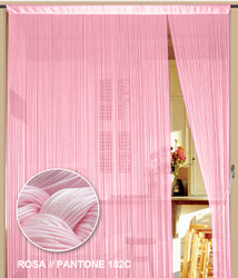 Dieser Fadenvorhang von der Marke Kaikoon der Grösse 090 cm x 240 cm in rosa ist super geeignet für Ihr Zuhause