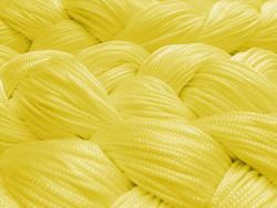 Fadenstore 090 cm x 240 cm (BxH) in gelb