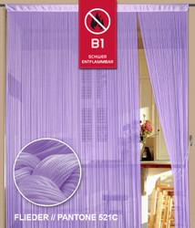 Dieser Fadenvorhang von der Marke Kaikoon der Grösse 090 cm x 240 cm in flieder  ist super geeignet für Ihr Zuhause