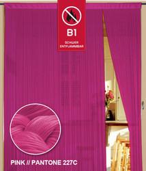 Dieser Fadenvorhang von der Marke Kaikoon der Grösse 090 cm x 240 cm in pink ist super geeignet für Ihr Zuhause