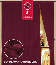 Dieser Fadenvorhang von der Marke Kaikoon der Grösse 090 cm x 240 cm in bordeaux ist super geeignet für Ihr Zuhause