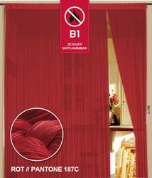 Dieser Fadenvorhang von der Marke Kaikoon der Grösse 090 cm x 240 cm in rot ist super geeignet für Ihr Zuhause