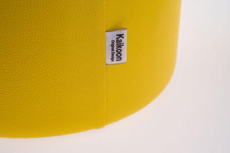 Sitzhocker gelb Ø34 cm x 60 cm