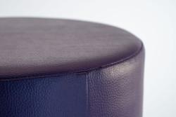 Cubes Hocker Sitzhocker Sitzwuerfel Kunstleder lila