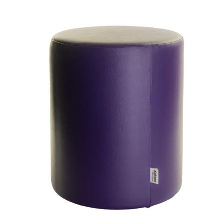 Sitzhocker lila Ø34cm x 60 cm
